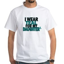 I Wear Teal For My Daughter 5 Shirt
