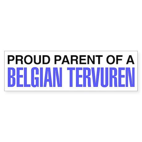 Proud Parent of a Belgian Tervuren Sticker