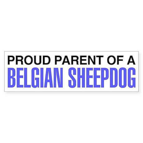 Proud Parent of a Belgian Sheepdog Sticker