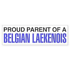 Proud Parent of a Belgian Laekenois Bumper Sticker