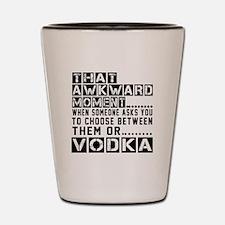 Vodka Awkward Designs Shot Glass