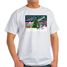 XmasMagic/2 Whippets (P2) T-Shirt