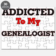 Addicted to my Genealogist Puzzle