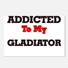 Addicted to my Gladiator Postcards (Package of 8)