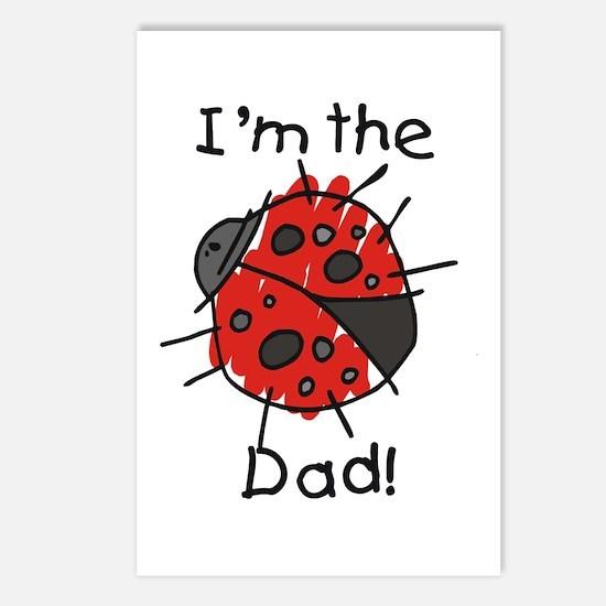 Ladybug I'm the Dad Postcards (Package of 8)