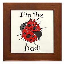 Ladybug I'm the Dad Framed Tile