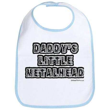 DADDY'S LITTLE METALHEAD Bib