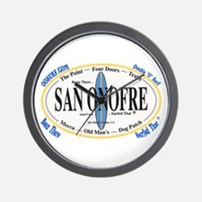 San Onofre Wall Clock