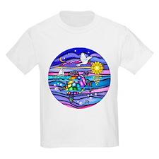 Cute Turtle art T-Shirt