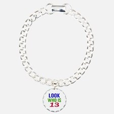 Look Who Is 13 Bracelet