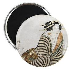Geisha Tea Ceremony Magnet