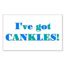 CANKLES! Rectangle Decal