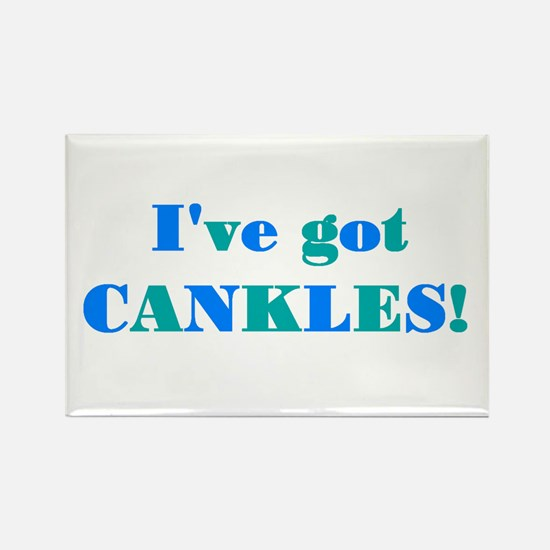 CANKLES! Rectangle Magnet