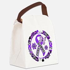 Lupus Canvas Lunch Bag