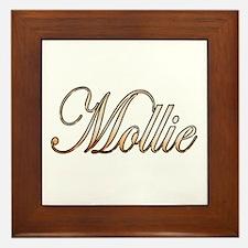 Unique Mollie Framed Tile