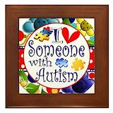 Autism Framed Tiles