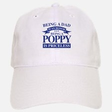 Being a Poppy is Priceless Baseball Baseball Cap