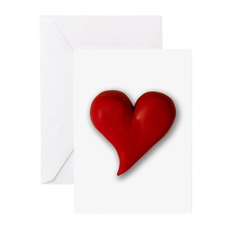 Hearts!!!! Greeting Cards (Pk of 10)