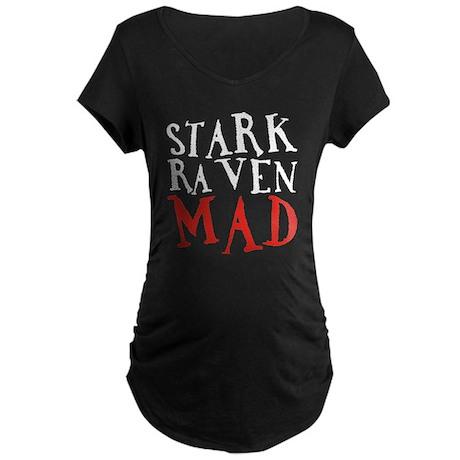 Stark Raven Mad Maternity Dark T-Shirt