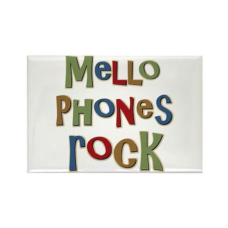 Mellophones Rock Player Lover Rectangle Magnet (10