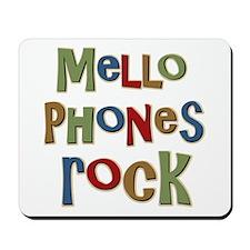 Mellophones Rock Player Lover Mousepad