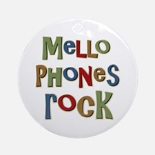 Mellophones Rock Player Lover Ornament (Round)