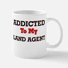 Addicted to my Land Agent Mugs