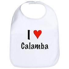 I love Calamba Bib