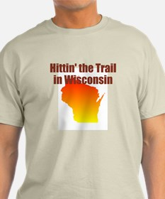 Men's Hittin' The Trail In Wis T-Shirt