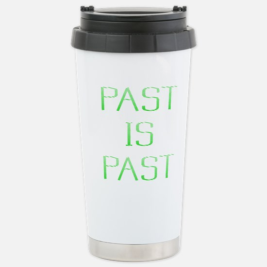 Past Is Past Designs Stainless Steel Travel Mug