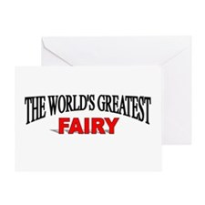 """""""The World's Greatest Fairy"""" Greeting Card"""
