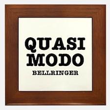 QUASIMODO - BELLRINGER:- Framed Tile