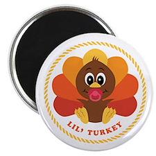 "Lil' Turkey 2.25"" Magnet (100 pack)"