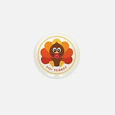 Lil' Turkey Mini Button (10 pack)