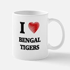 I love Bengal Tigers Mugs