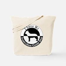 Unique Cattledog rescue Tote Bag