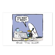 WTD: You Want It When?! Postcards (Package of 8)