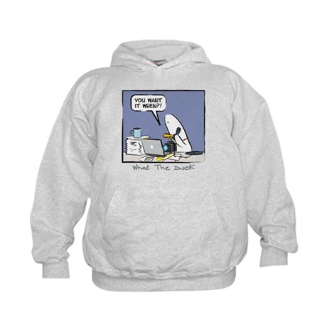 WTD: You Want It When?! Kids Hoodie