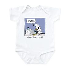 WTD: You Want It When?! Infant Bodysuit