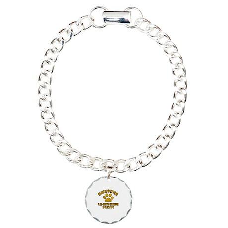 Awesome Flat-Coated Retr Charm Bracelet, One Charm