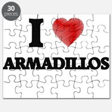 I love Armadillos Puzzle