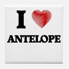 I love Antelope Tile Coaster