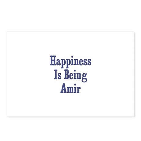 Happiness is being Amir Postcards (Package of 8)