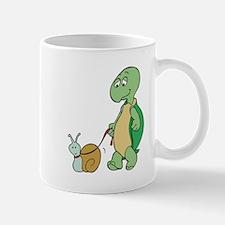 Turtle With Pet Snail Mug