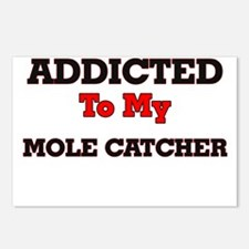 Addicted to my Mole Catch Postcards (Package of 8)