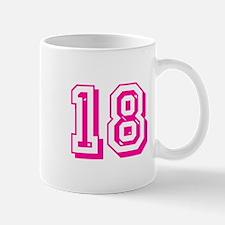 18 Pink Birthday Mug