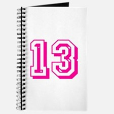 13 Pink Birthday Journal