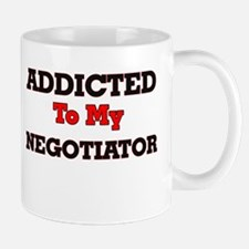 Addicted to my Negotiator Mugs