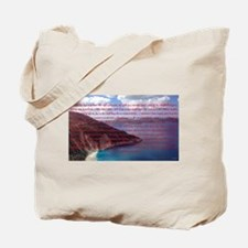 Stop, Look, and Listen Tote Bag