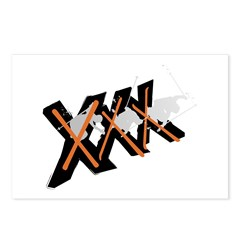 XXX Postcards (Package of 8)